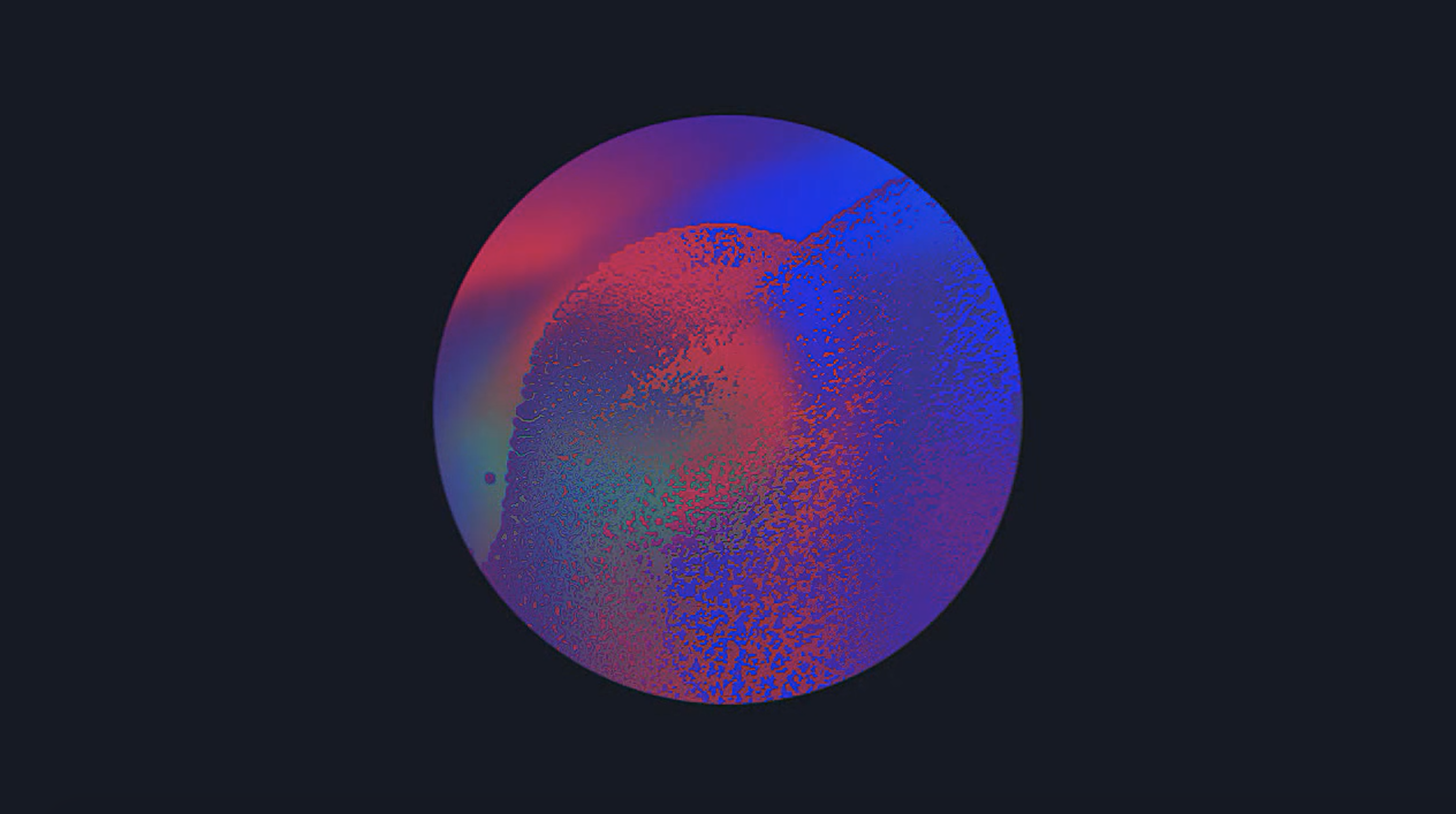 CONCEPT – ABSTRACT PARTICLES