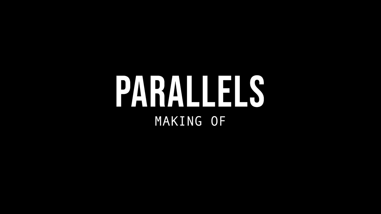 Parallels – making of (DANCE MAPPING)