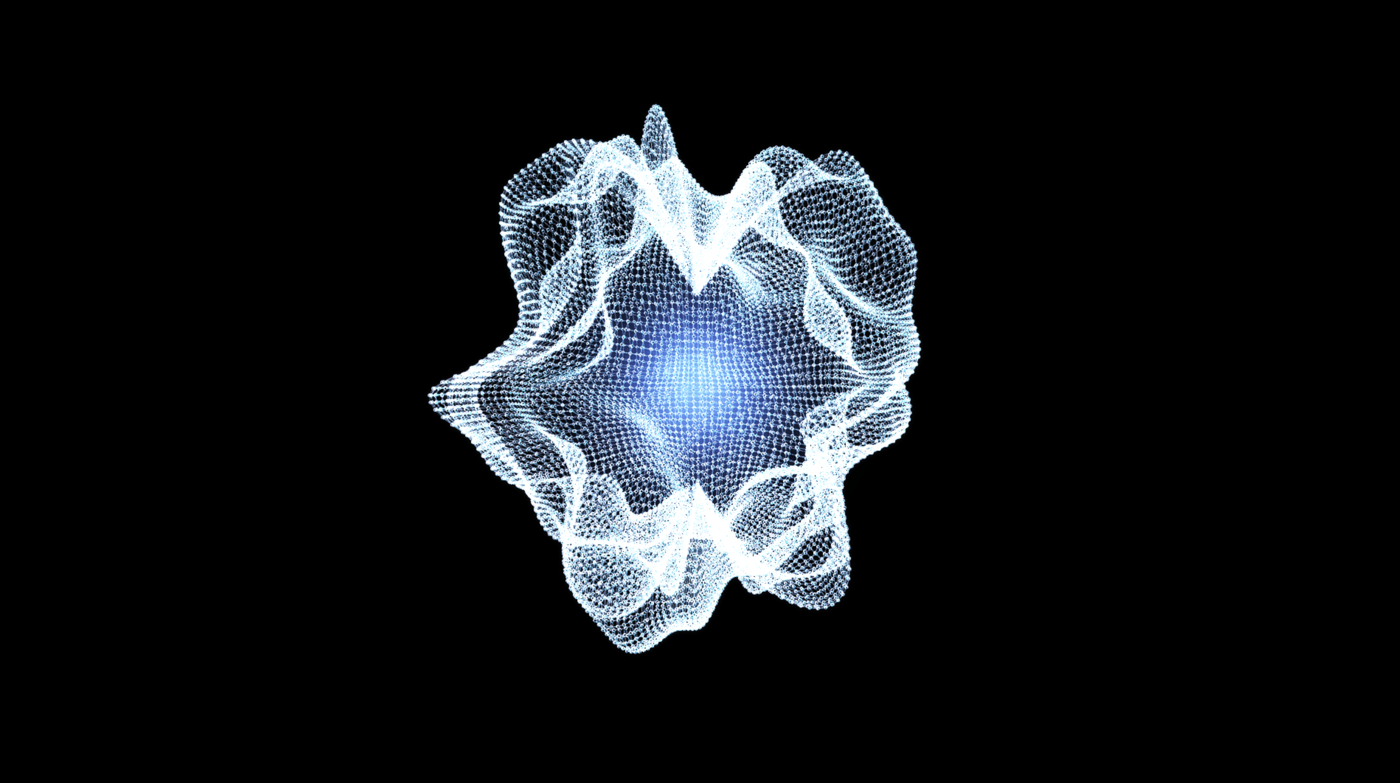 VJ concept series – abstract mesh