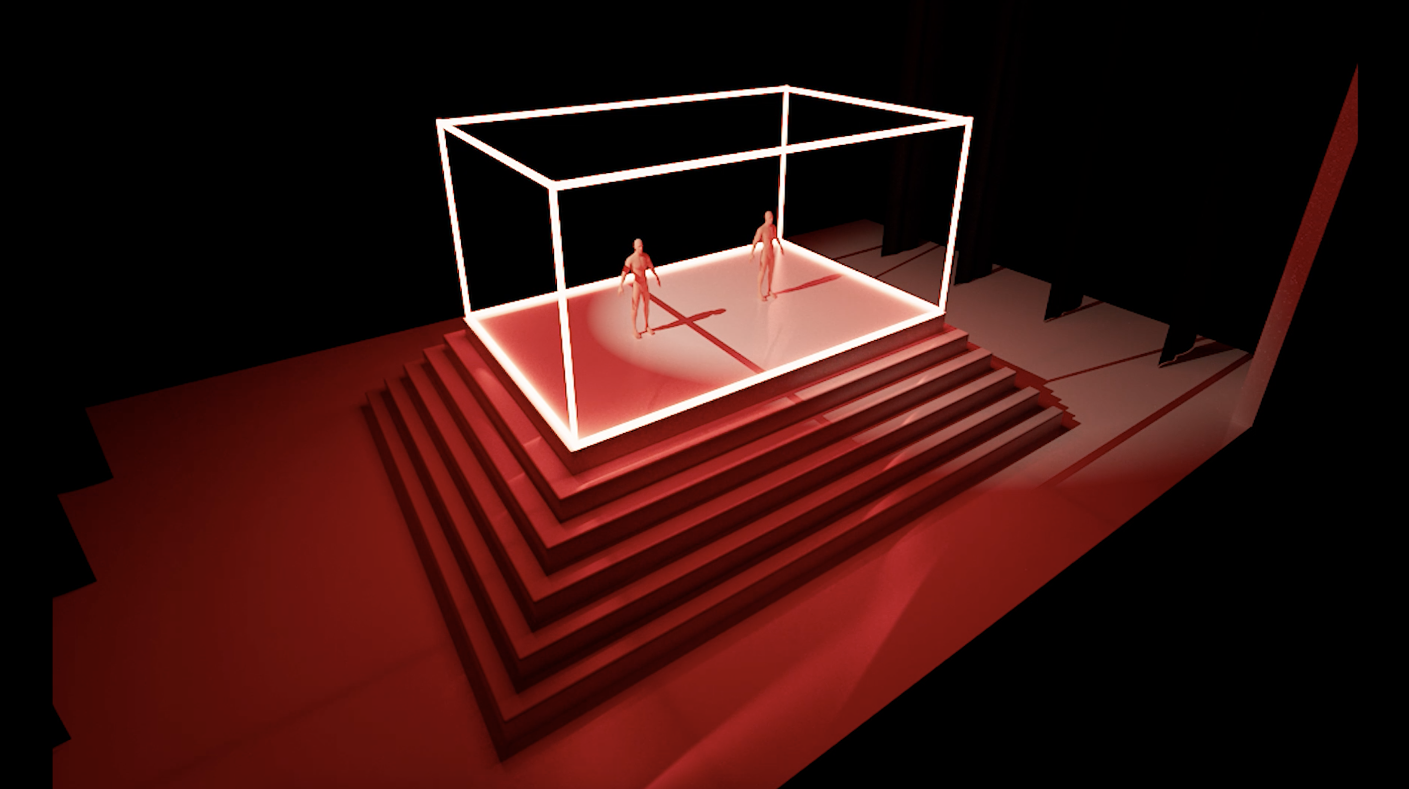 """Stage Design: """"One"""", for a dance piece"""